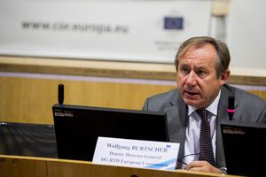 Reform: Wolfgang Burtscher, the EU Commission's director general of agriculture, is leading the drive for a switch to convert 25pc of Europe's farmland to organic production by 2030.
