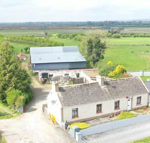 Compact farm: The 27ac holding near Mount Talbot on the Galway/Roscommon border is guided at €175,000