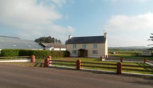 The four-bedroom farmhouse at Caheragh, Skibbereen