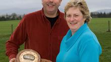 Eamonn and Patricia Lonergan run Knockanore Cheese in Co Waterford. Photo: Patrick Browne Jnr