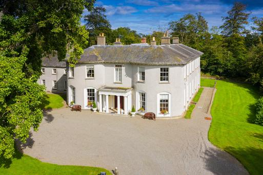 Duffy's den: Gavan Duffy spared no expense in restoring and expanding the Kilsharvan House estate in Louth