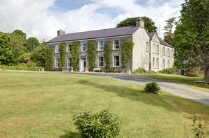 Partry House in Co Mayo