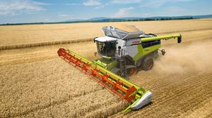 Outstanding in its field: Twenty-four years after the first Lexion was launched, this week Claas is unveiling the second-generation Lexion Hybrid combine harvester