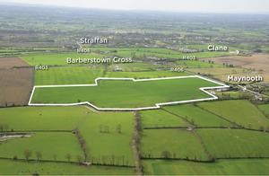 Appeal: The 57ac farm will interest hobby farmers also hoping to build a residence in a prime Co Kildare location
