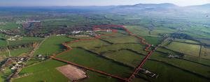 110ac no residential farm at Whitefields, Beaufort,near Killarney in Co Kerry made €1.925m or €17,500/ac when it sold at auction in April last year.
