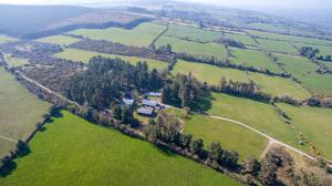 The 66ac farm is located at Glenacunna, 4km from Ballyporeen in Co Tipperary