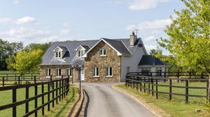The residence on the stud farm