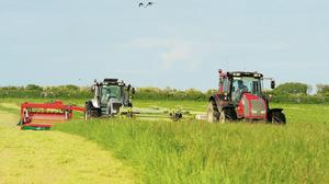 The good weather has allowed for some excellent second cuts and haymaking.