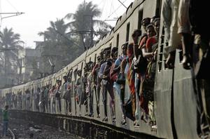 GROWTH: India's population is expected to exceed 1.27bn this year and is growing at more than 6.5m a year.  AP Photo.