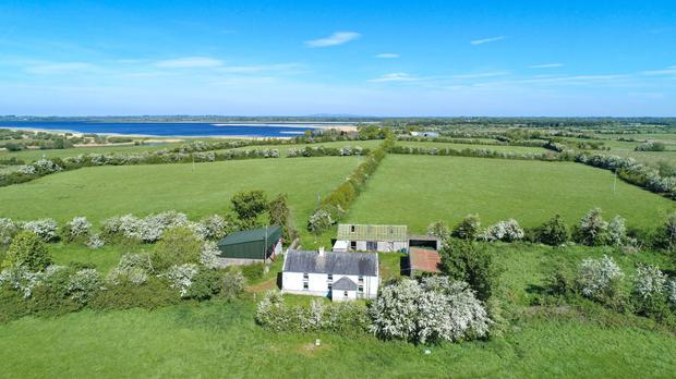 Sky's the limit: The farm is located on the Longford/Westmeath border in a sought-after location