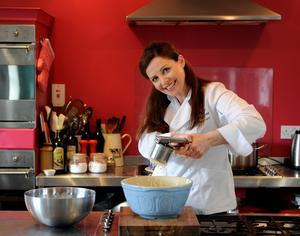 Irish chefs Catherine Fulvio (pictured) and Kevin Dundon will be cooking and presenting Irish beef on US Breakfast TV during the St Patrick's Day festivities stateside.