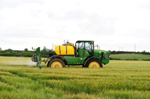 Last run: The vast majority of the work with winter barley crops should be done by now, with the number of grains per plant largely determining total yield. Photo: Roger Jones