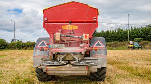 Calibration: Correct spreader settings are machine specific and are based on the type of fertilizer being spread and the bout width chosen.
