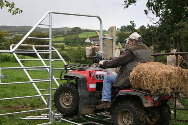 ATVs do not have a roll bar to protect the driver's head or neck when they overturn, leading to a huge number of serious accidents and fatalities