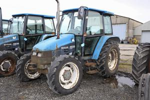 A Ford 4835 4WD Tractor with 2,953 hours on the clock