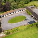 Castlesize on 36ac, the former home of flat racing champion jockey, Liam Ward at Millicent near Naas, Co. Kildare, sold by Coonans at auction for €2.7m