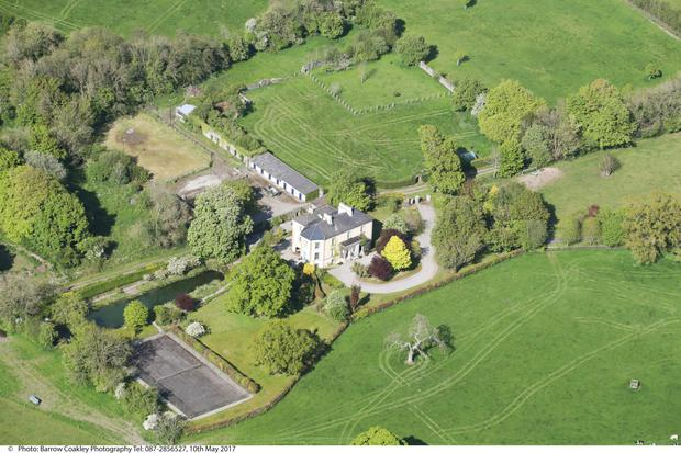The property is laid out in seven fields of grassland with plenty of road frontage