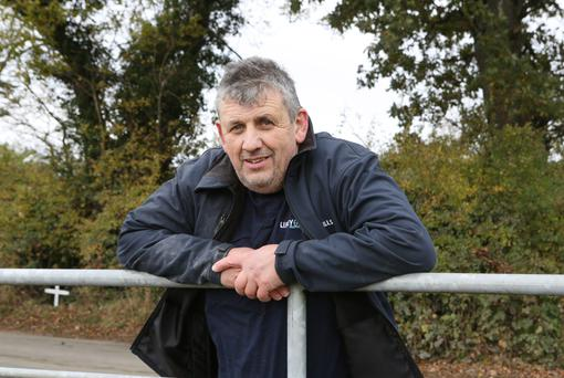 Tipperary farmer Liam Minehan says the proposed Shannon pipeline will permanently disrupt and damage his holding. Photo: Liam Burke/Press 22