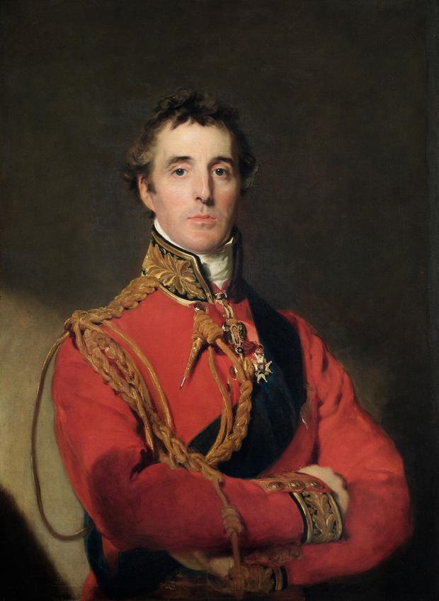 The Duke of Wellington, whose mother was born and raised at Grangebeg