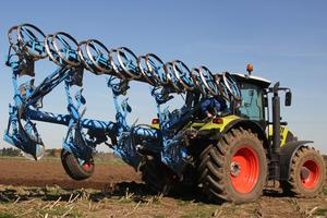 Tyre pressure - Good ploughing starts with the tractor