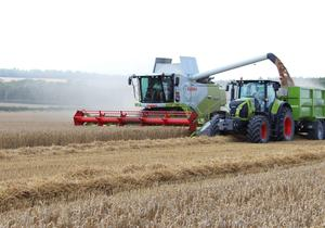 The Tucano from Claas offers an alternative to growers who don't want the bells and whistles of a top contractor-spec combine.