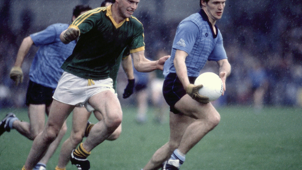Royal pedigree: Padraic's uncle Liam Harnan in action for Meath in the 1996 Leinster football final. Photo: Sportsfile