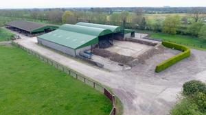 The farm at Berrillstown near Dunshaughlin goes to auction on May 23 and is guided at €2m