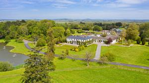 Done deals: The 286ac Kilfrush Stud at Knocklong, Co Limerick was withdrawn from auction in summer last year by auctioneer Paddy Jordan after being bid to €6.1m. It sold by private treaty in the latter part of 2019 for a higher figure