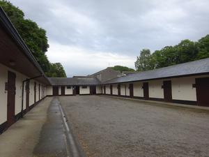 The equestrian facilities include 55 horse boxes