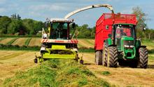 Skilled machinery workers are being drawn back into the construction sector, resulting in labour shortages for farming contractors