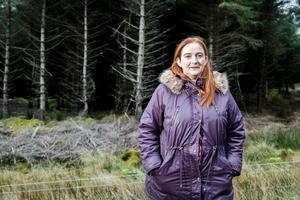 Mary Rooney is from Manorhamilton and runs a sheep and suckler farm across the border in Gorteen, Co Sligo. Photo: James Connolly