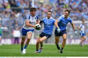 Darren Hughes in action against Dublin in the 2017 All-Ireland quarter-final match against Dublin in Croke Park. Photo by Ramsey Cardy/Sportsfile