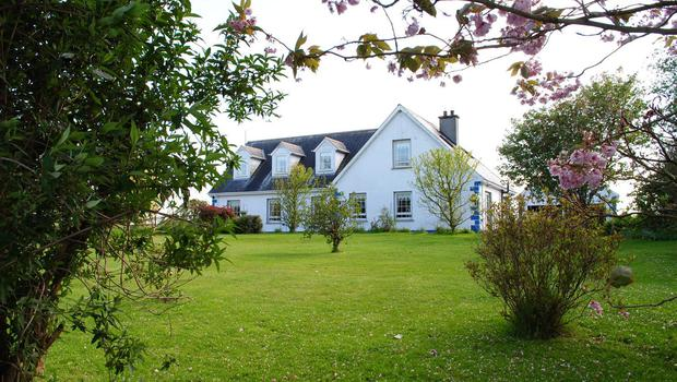 Fine condition: The modern dormer bungalow stands on 9ac near Delvin, Co Westmeath