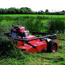 The Wildcut mower by Quad X is ideal if you have heavy rushes, bracken or heather to cut. It is pulled with an ATV to allow access where a tractor cannot go