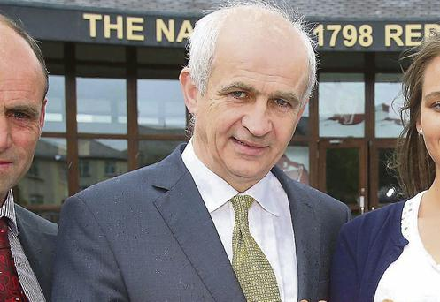 Safety conscious: Eddie Downey is campaigning for safer and healthier farms as he bids to become the new IFA president