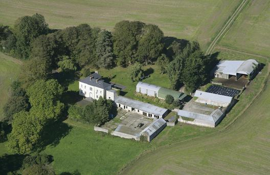 PICTURE PERFECT: Graigue House and its 298ac of prime agricultural farmland is located between Mallow, Mitchelstown and Fermoy, Co Cork
