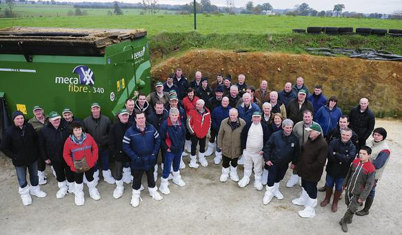 FIELD TRIP: A group of 46 Irish farmer s from all over the country visited a number of farms in northern France recently. The trip was organised by Keenans in France