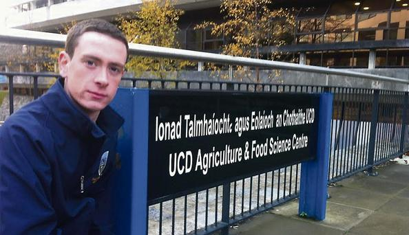 KEEN: Stephen Robb is a third year Food and Agribusiness Management student in UCD about to start work experience