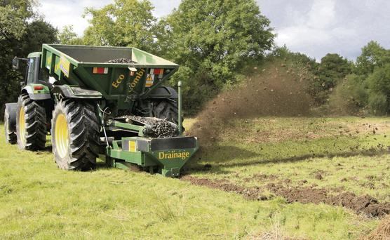 ENVIRONMENTALLY FRIENDLY: One of the key advantages of the Eco-Drainer machine is that it does not require the use of plastic land drainage pipe