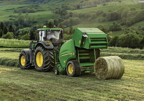 NEW RANGE: The F440R fixed chamber round baler will be on show at Lamma in January and is primarily aimed at customers who produce more than 3,000 silage bales per season