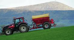 Ireland must reduce its ammonia (NH3) discharges from farming by 5pc in the period to 2030. Pic Roger Jones.
