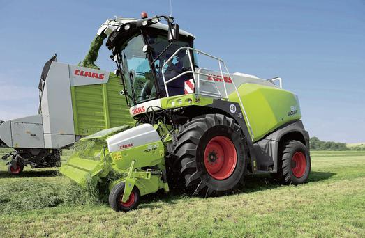 LAUNCH: Claas will be unveiling its latest Jaguar 800 series foragers at the FTMTA