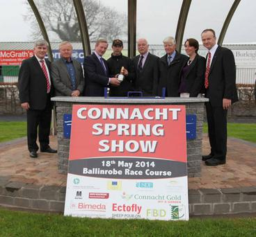 The recent launch of the Connacht Spring Show, which was attended by Taoiseach Enda Kenny.