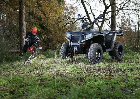 DEVELOPMENT: The addition of electronic fuel injection takes the Sportsman to a new level with 20pc more power