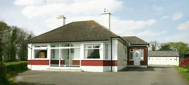 HUMBLE HOME: The property is located 8km from Navan
