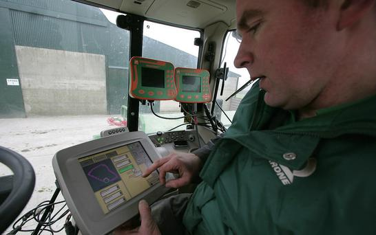 Advanced: Technology, especially GPS, plays a huge role in every field operation.