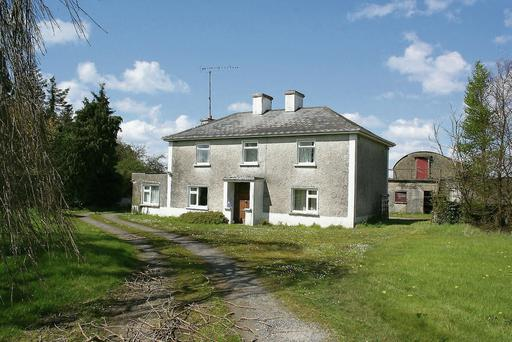 POTENTIAL: This 147ac residential farm at Ardagh, Co Longford, needs extensive wor