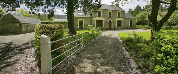 modern: This stunning period house in south Tipperary is expected to exceed it's €1.475m guide price when it goes to sale by private treaty