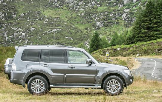 Comfortable The Mitsubishi Pajero is expected to market from €49,950, which makes it good value for all that is on offer