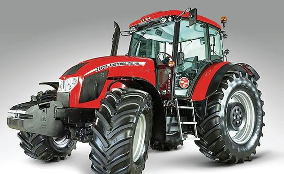 Flagship: As a curtain-raiser to the launch later this year of their top-of-the range 150hp Forterra, Zetor are taking their flagship tractor on an Irish tour this week.